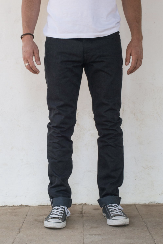 Freenote - Avila Slim Taper - Black/Grey - Front