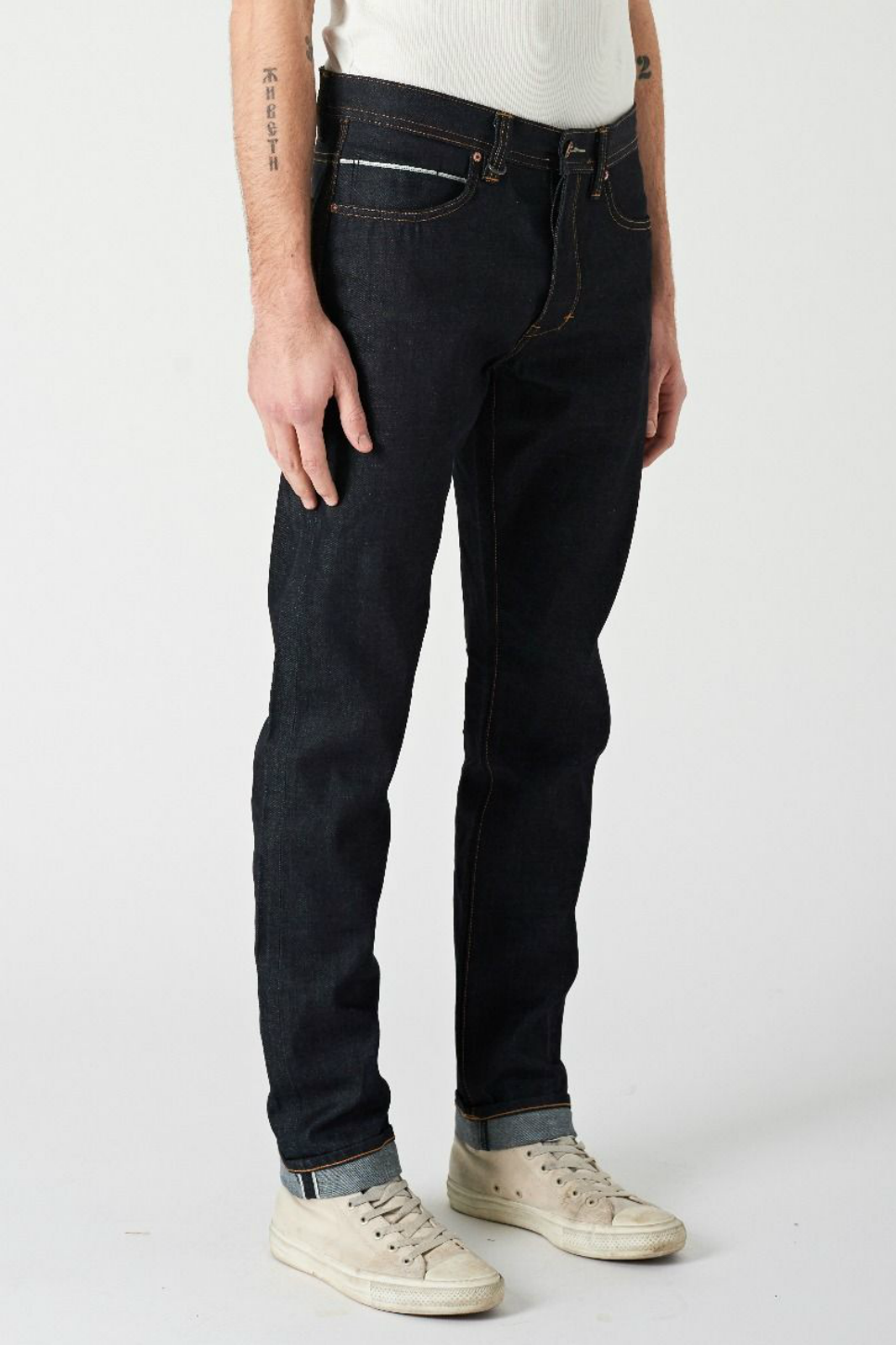 NEUW - Lou Slim - Raw Selvedge - Profile