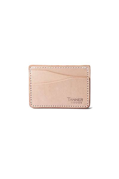 Tanner - Journeyman Wallet - Natural - Front