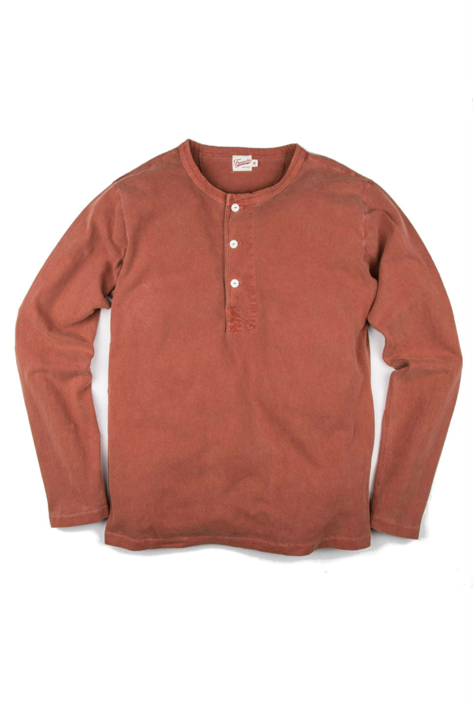 Freenote - 13oz Henley - Rust