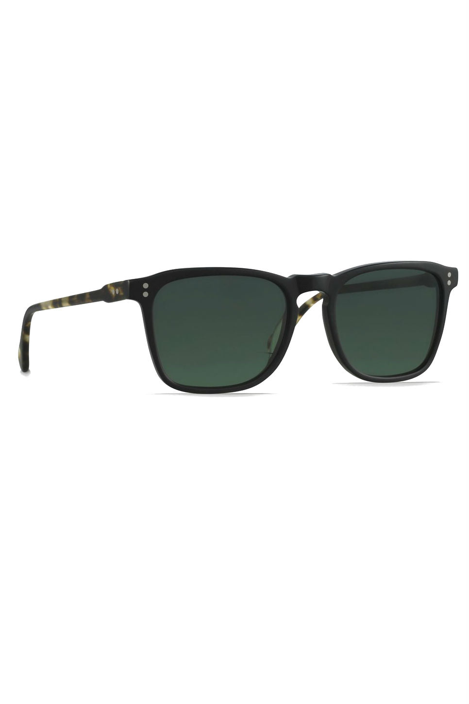 RAEN - Wiley - Matte Black + Matte Brindle Tortoise/Green Polar - Profile