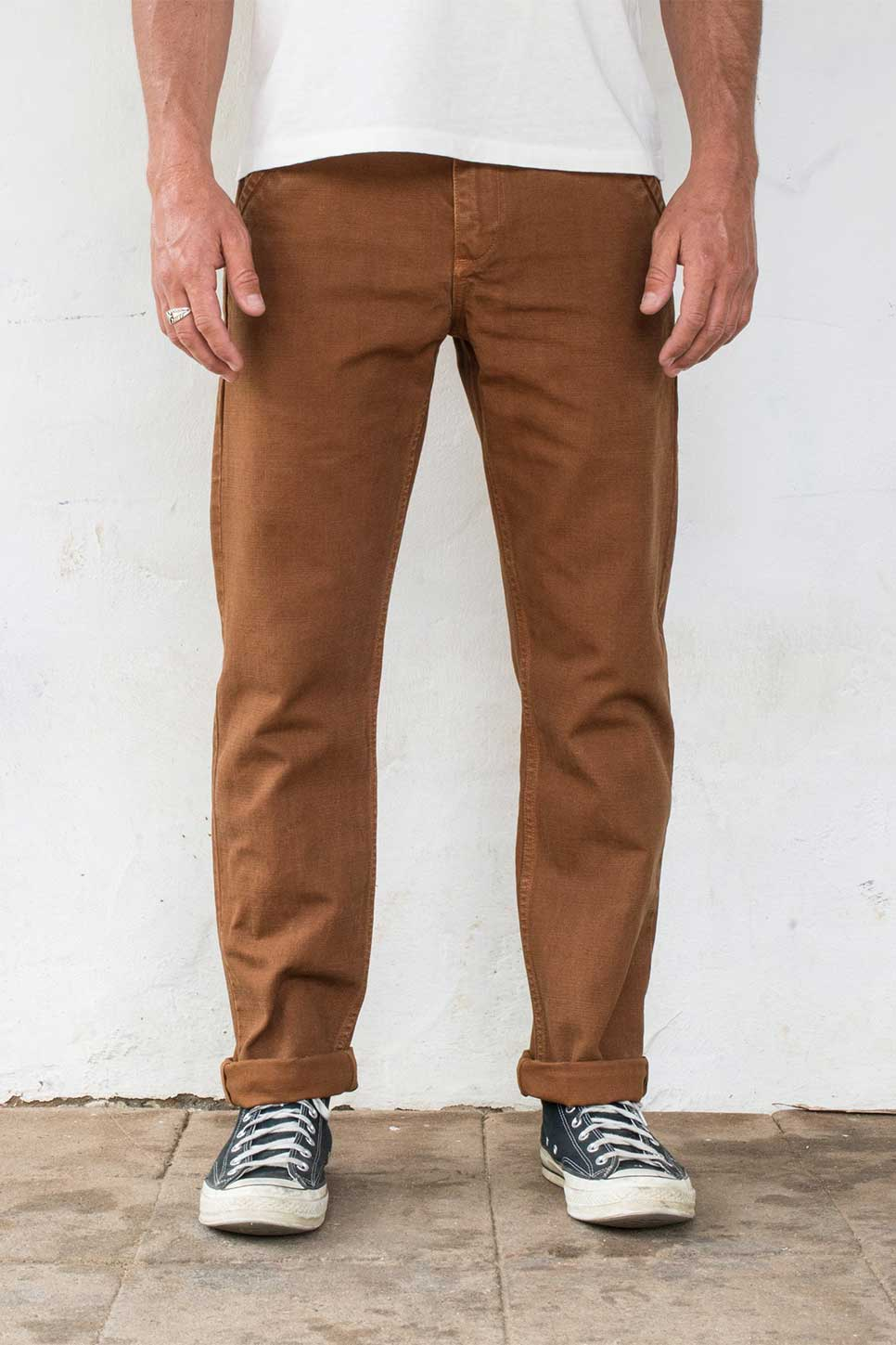 Freenote - Workers Chino 14oz - Rust - Front