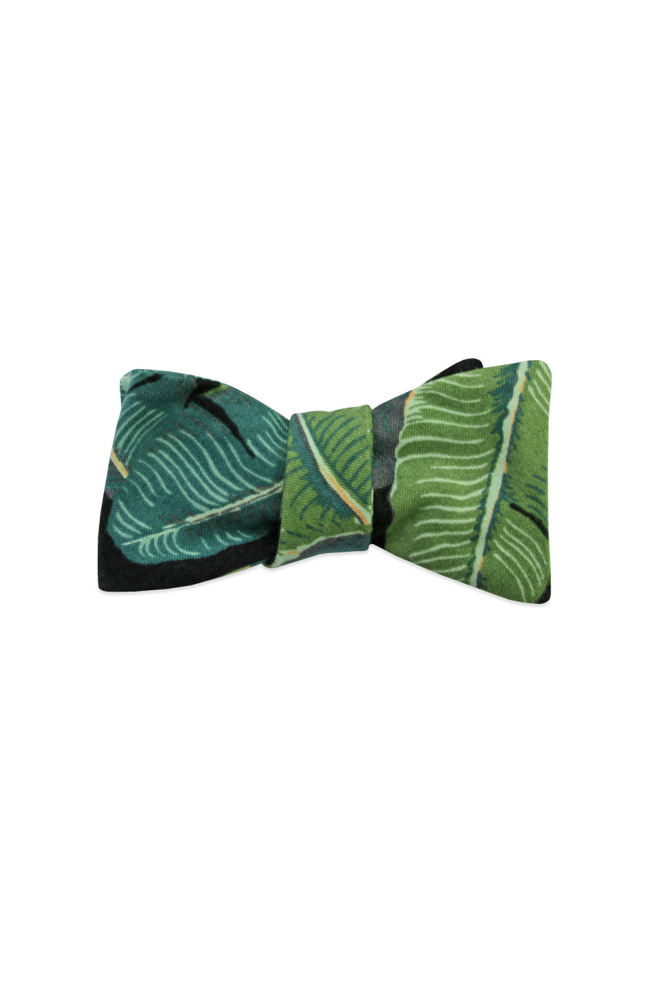 THE CAMILLE BOW TIE Tropical Print