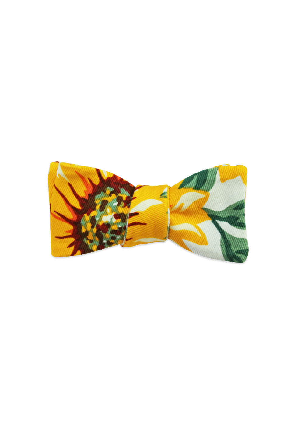 THE LAILA SUNFLOWER BOW TIE Floral Print