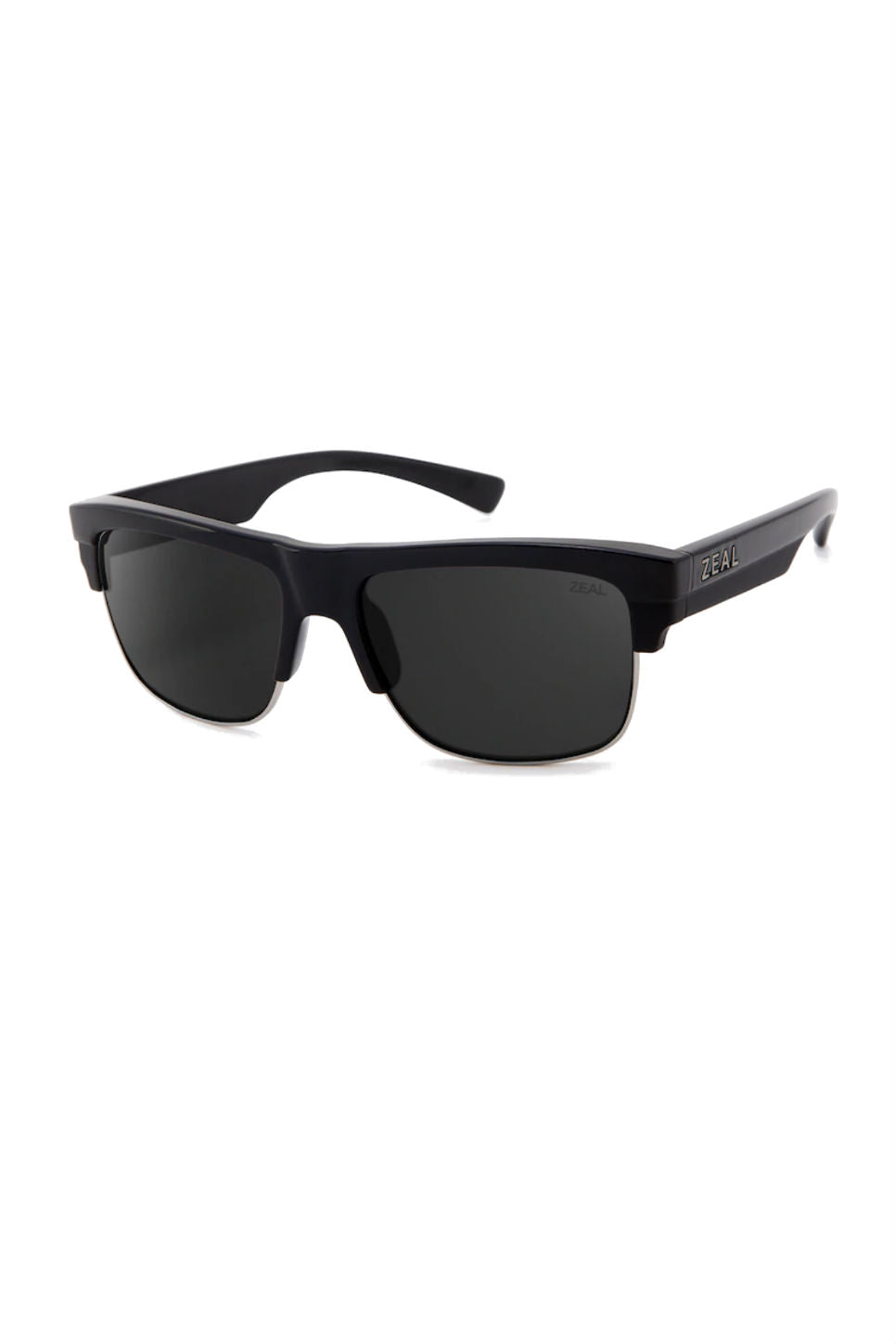 Zeal Optics - Emerson - Black Gloss/Dk Grey - Profile