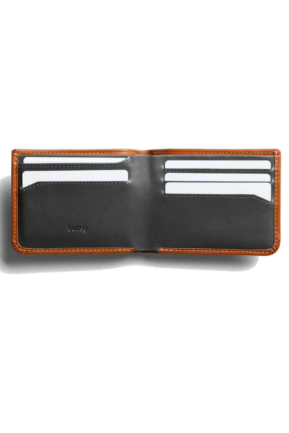 Bellroy - Hide & Seek Wallet - Caramel - Inside