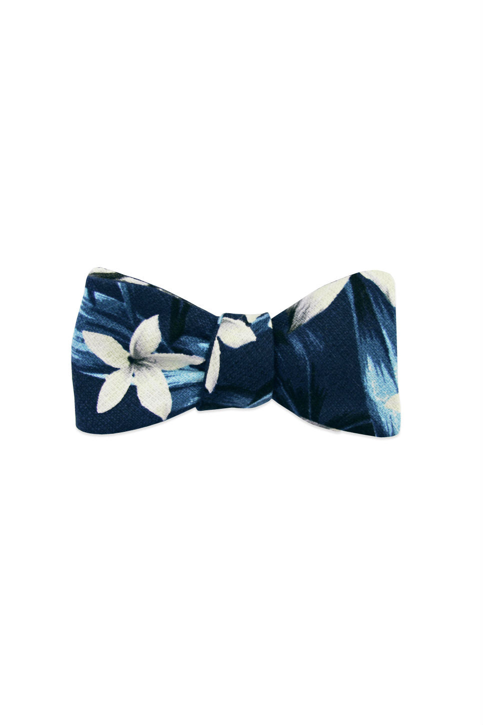 THE KALEA BOW TIE Blue Tropical