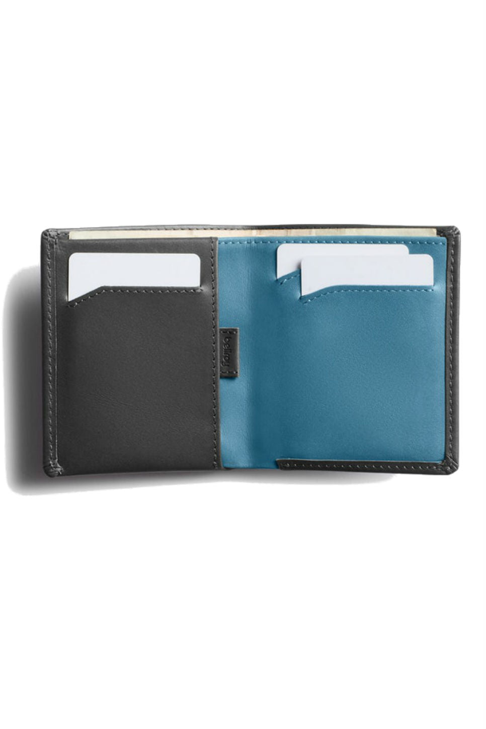Bellroy - RFID Note Sleeve - Charcoal - Inside