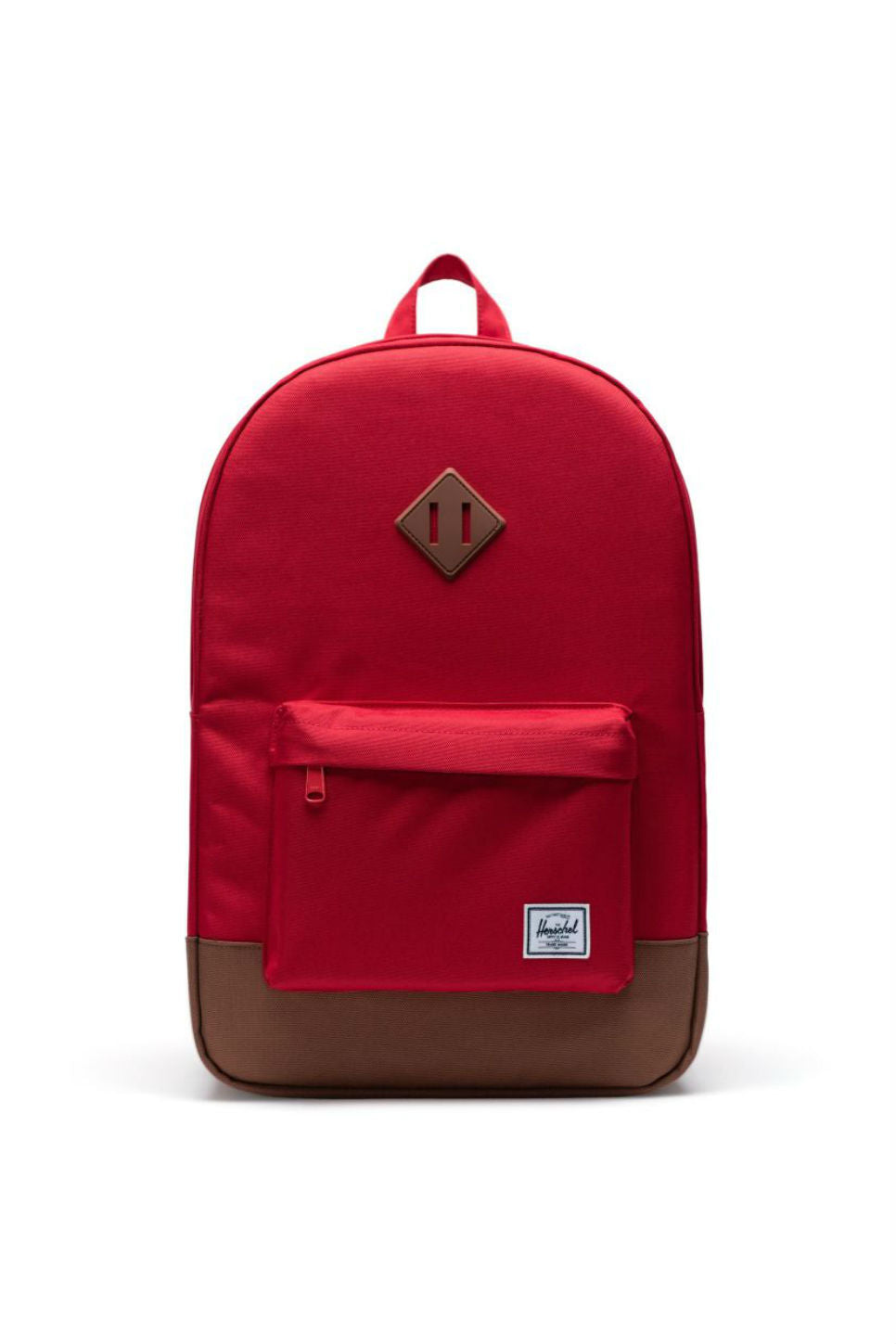 Herschel - Heritage Pack - Red/Saddle Brown - Front