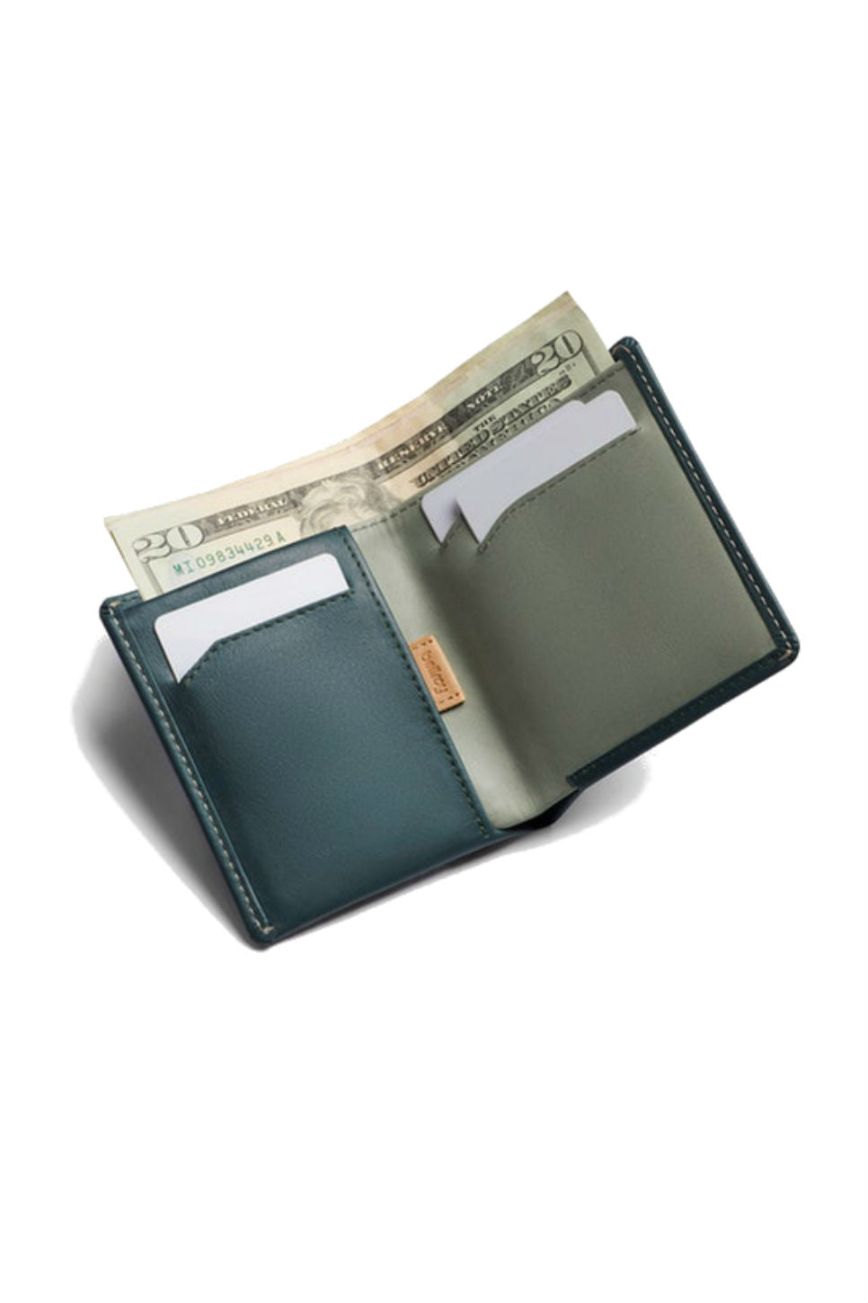 Bellroy - RFID Note Sleeve - Teal - Inside