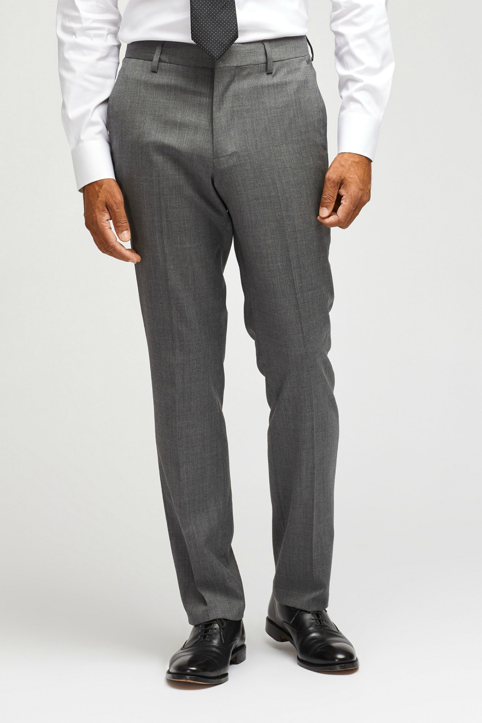 Bonobos - Jetsetter Stretch Wool Suit Pant - Grey - Front