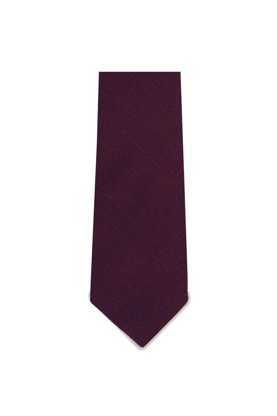 Pocket Square Clothing - The Norman Tie - Maroon