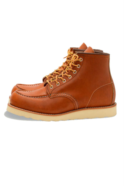 Red Wing Heritage - 6 Inch Moc Toe - Oro Legacy - Side
