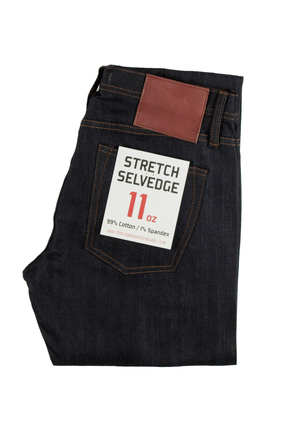 Unbranded - UB122 Skinny 11oz Stretch - Indigo Selvedge