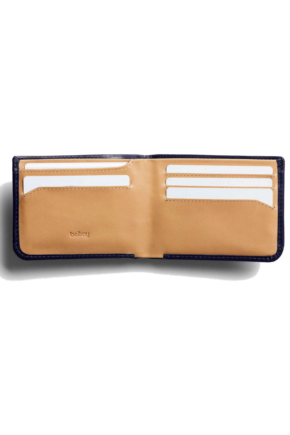 Bellroy - Hide & Seek Wallet - Navy - Inside