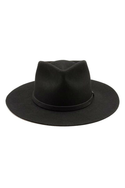 Yellow 108 - Dylan Hat - Black - Front