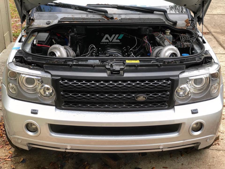 2008 Range Rover Sport LS Twin Turbo Swap Blog