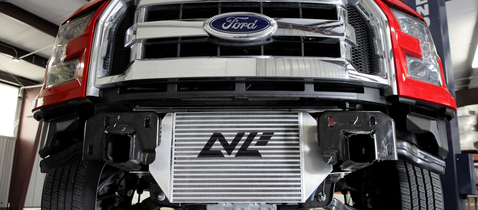 Ford F-150 Ecoboost with Levels Intercooler