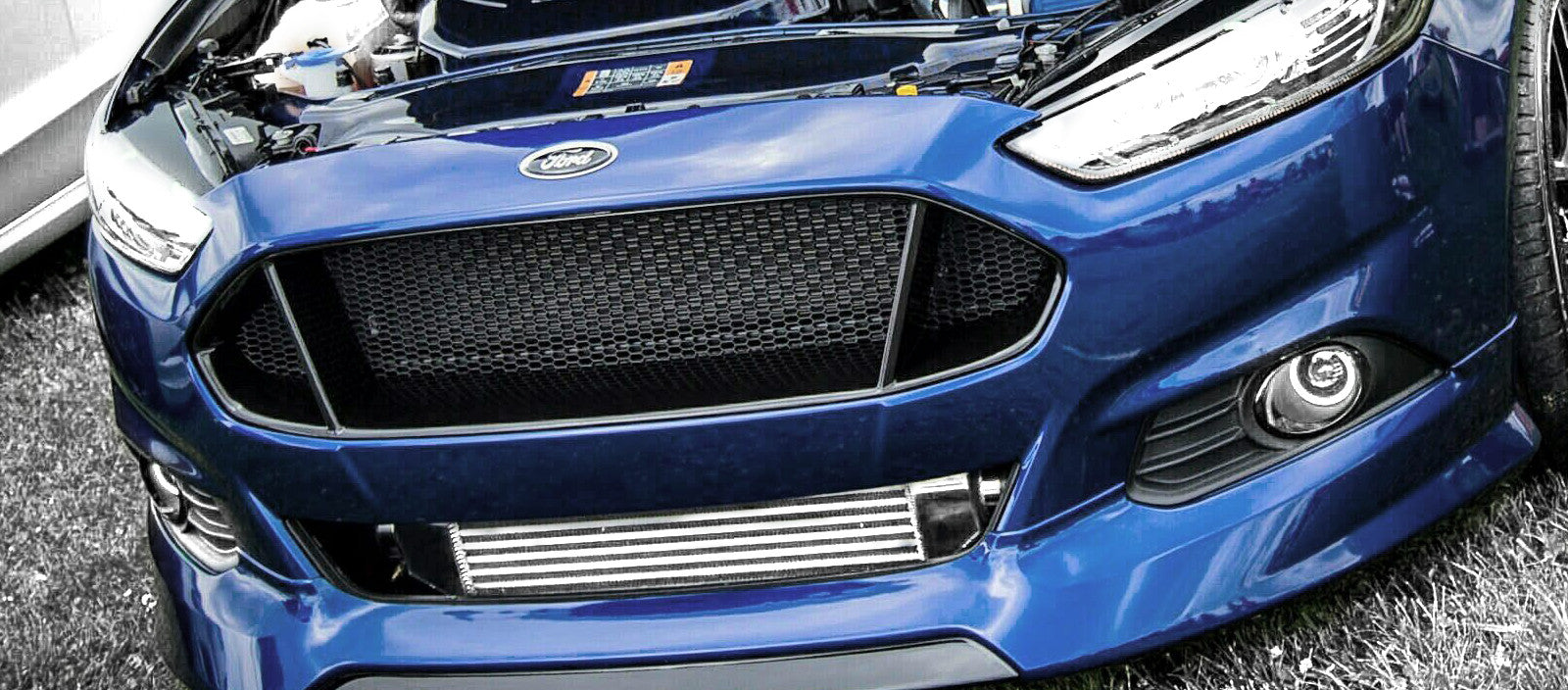 Ford Fusion with Levels Intercooler