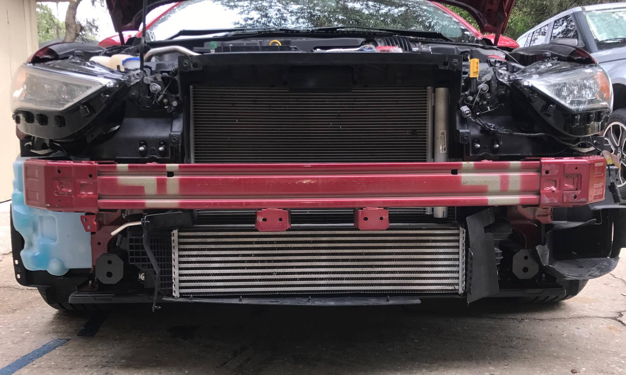 2017 ford fusion sport intercooler upgrade