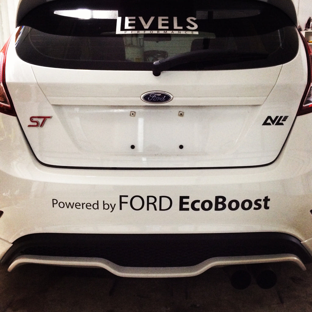 Powered By Ford Ecoboost Vinyl Sticker