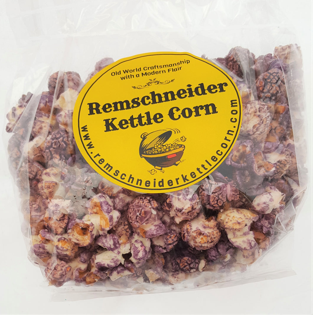 Purple Grape Flavored Popcorn