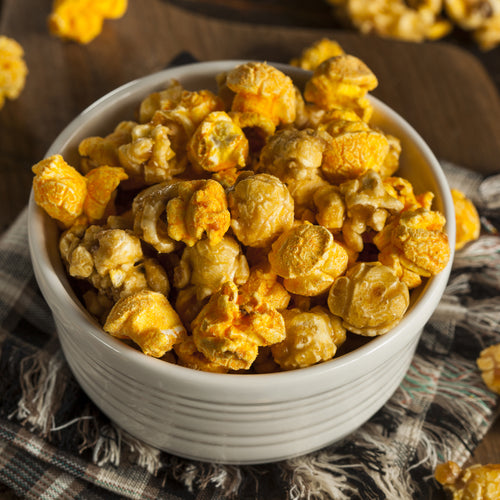 Cheese and Caramel Corn Mix