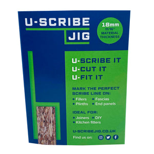 "18mm (11/16"") U-Scribe Jig - Set of 3"