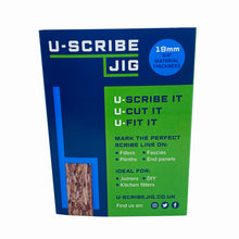 "Load image into Gallery viewer, 19mm (3/4"") U-Scribe Jig - Set of 3"