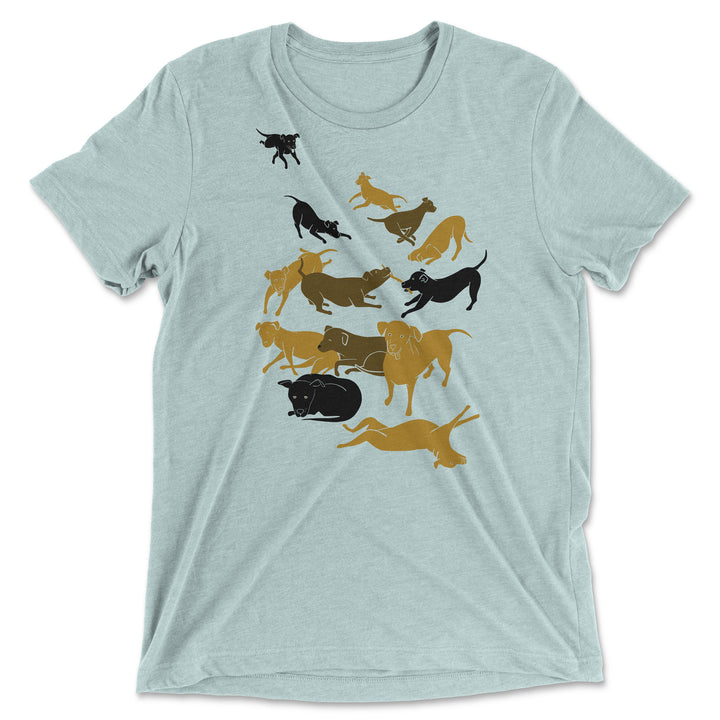 Dogs everywhere! - Unisex T-Shirt