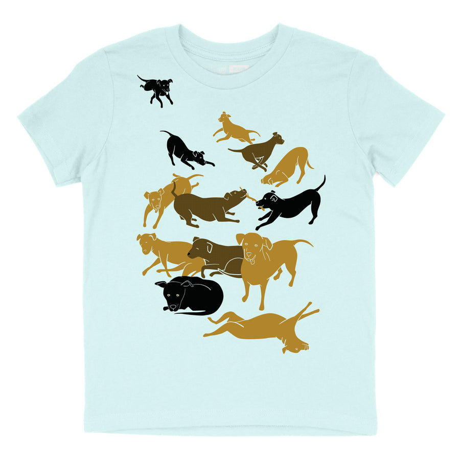 Dogs everywhere! - Child T-Shirt
