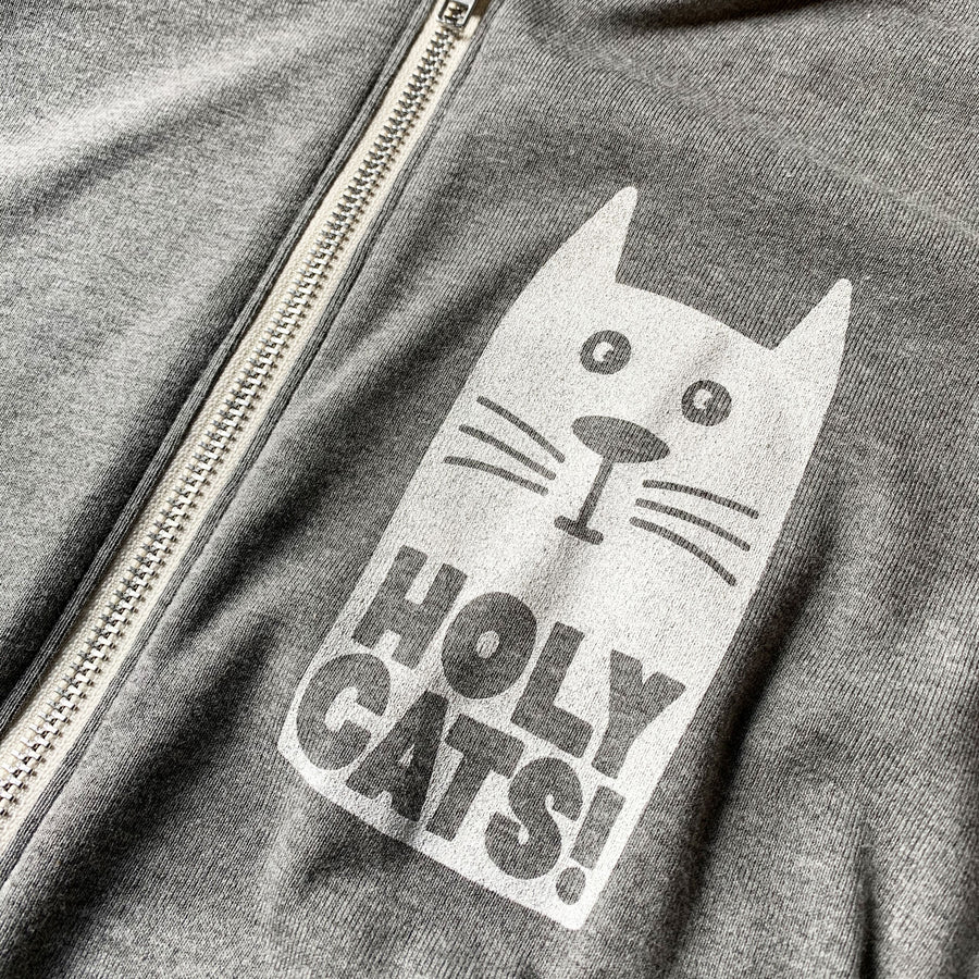 Holy Cats! Lightweight Zip Hoodie