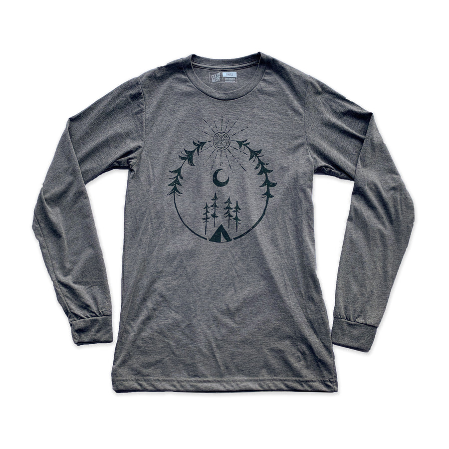 Camp - Unisex Long Sleeve Shirt (XS, M, L)