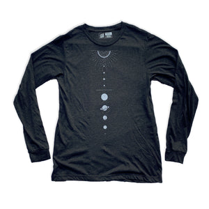Solar System - Unisex Long Sleeve Shirt - XS, L, XL