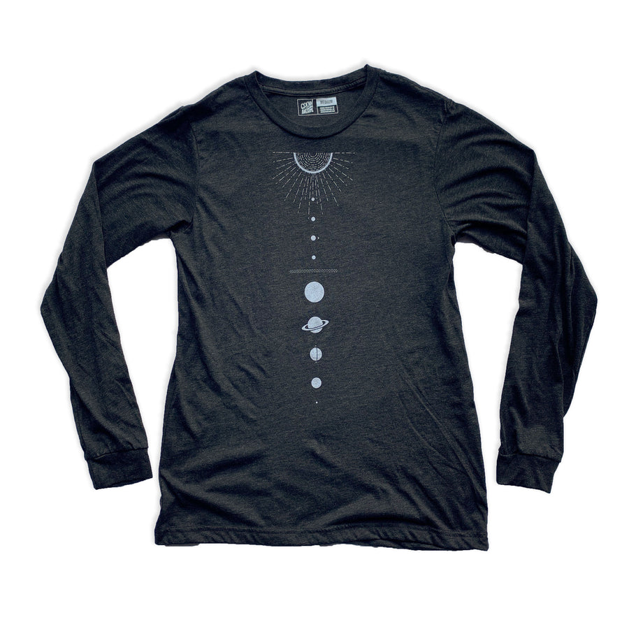 Solar System - Unisex Long Sleeve Shirt - XS, M, XL
