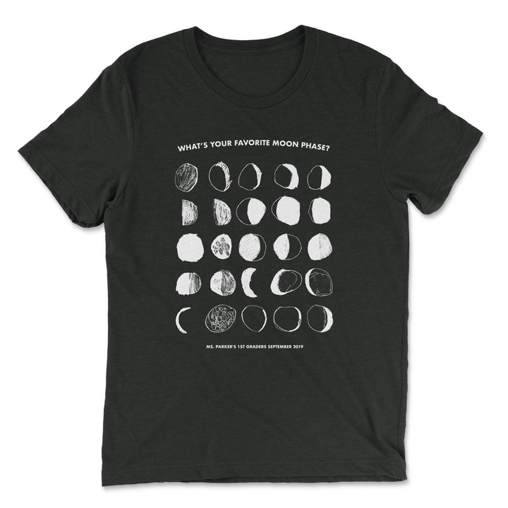 Moon Phases - GRCDC - Men/Unisex T-Shirt