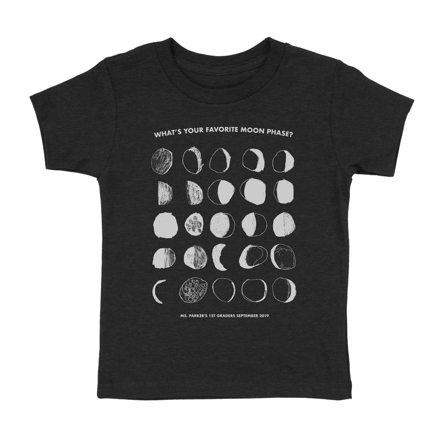 Moon Phases - GRCDC - Child T-Shirt