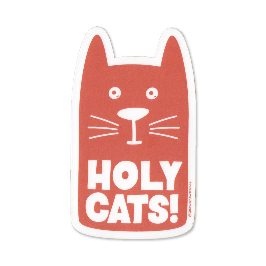 Holy Cats! Sticker