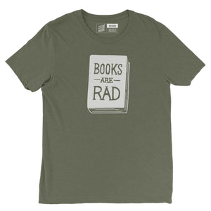Books Are Rad - Unisex Tee