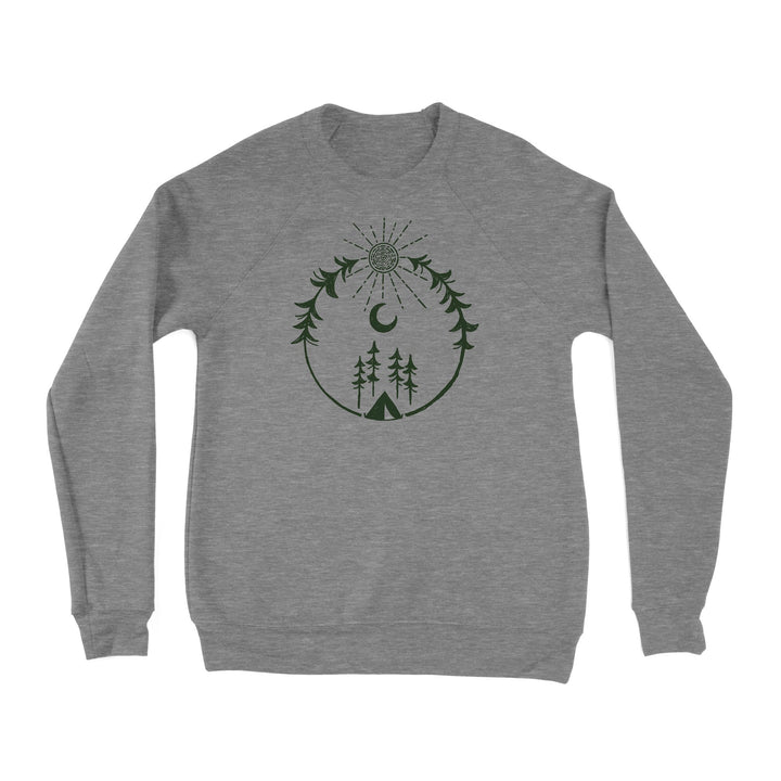 Forest Camp Unisex Sweatshirt (XS, M, L)