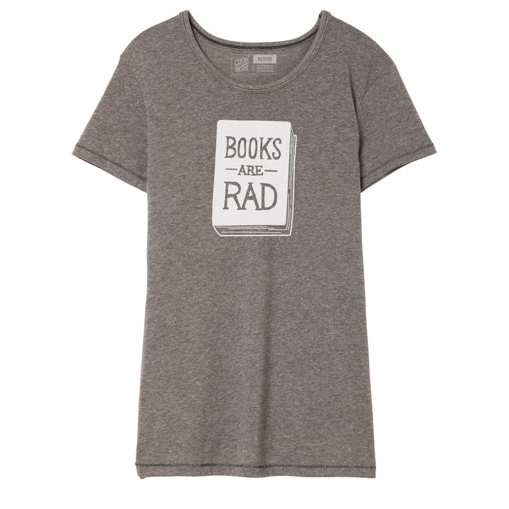 Books Are Rad - Women's Crew Neck T-Shirt