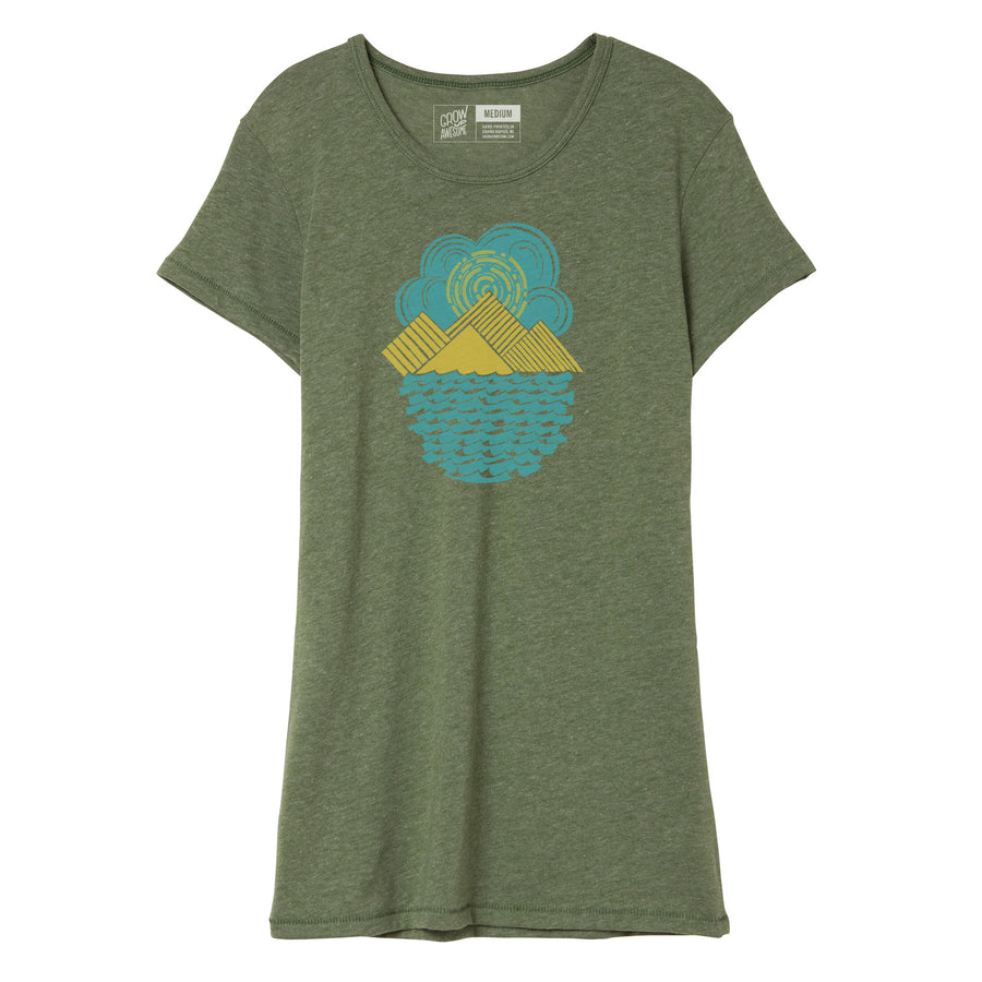 Mountain Range - Women's T-Shirt