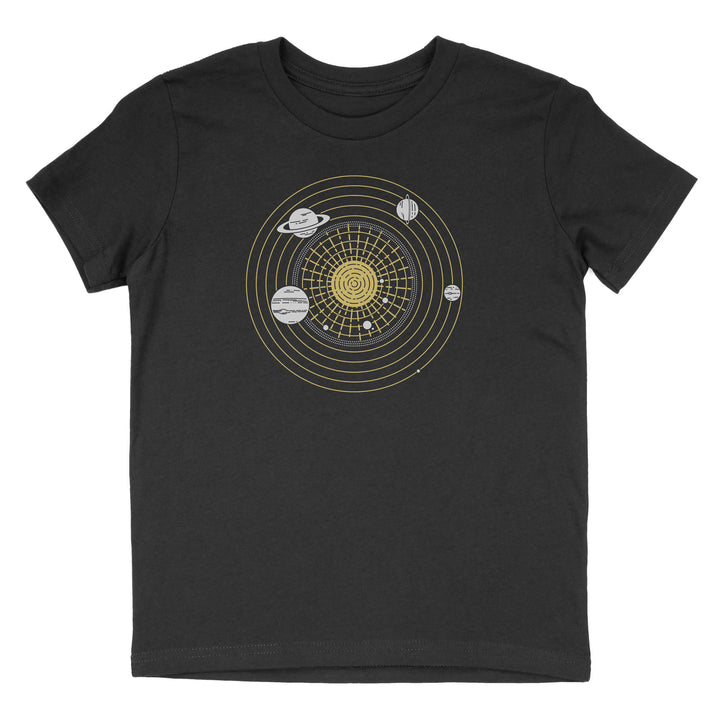 Solar System Diagram - Child T-Shirt