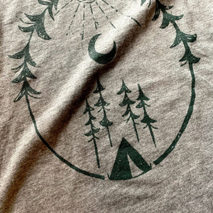 Forest Camping - Child T-Shirt