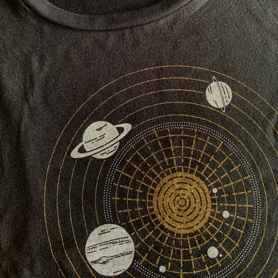 Solar System Diagram - Women's Flowy Muscle Tank