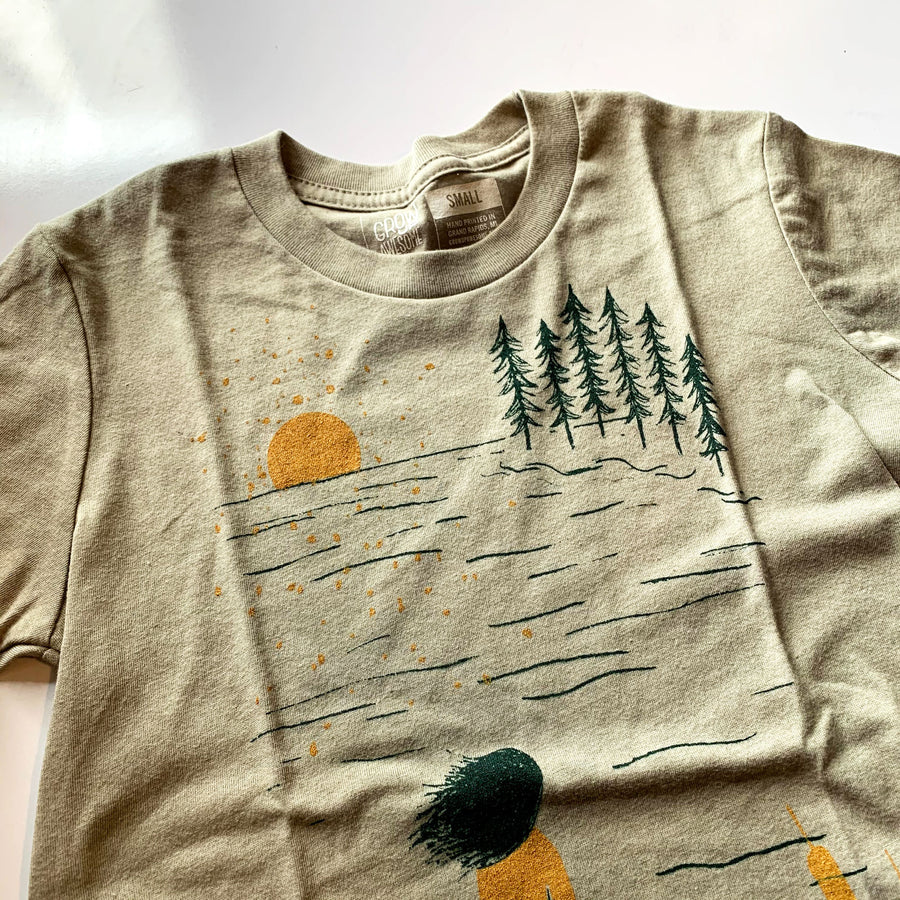 Summer Lake - Child T-Shirt / YS, YM, YXL