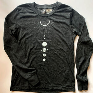 Solar System - Child Long Sleeve T-Shirt / YM & YL