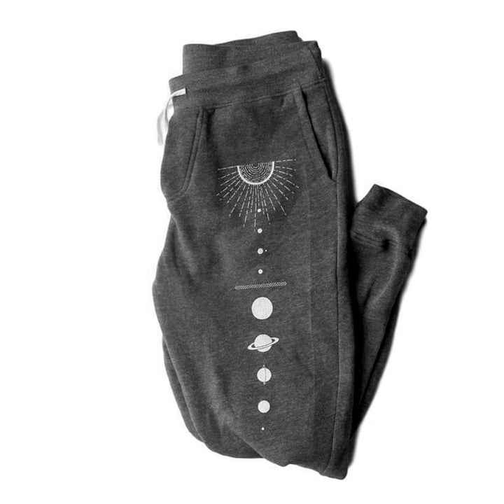 Solar System Fleece Unisex Pants