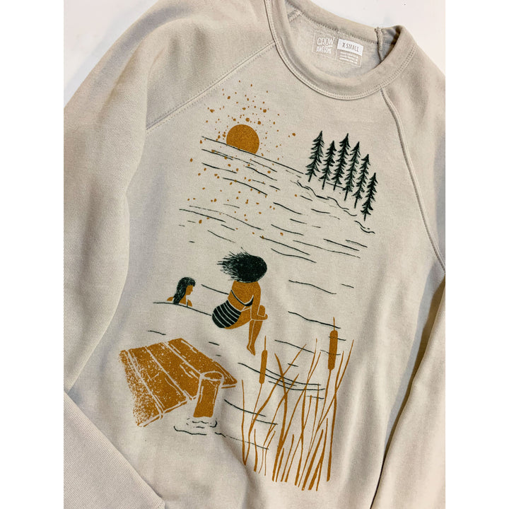Summer Lake Unisex Sweatshirt