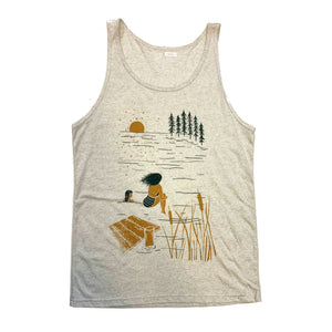 Summer Lake - Unisex Tank Top - L, XL, 2XL